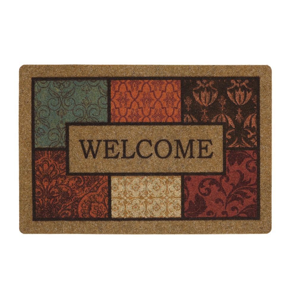 Mohawk Indoor Welcome Mat - Brown/Multicolor - Teays Valley, WV at ...