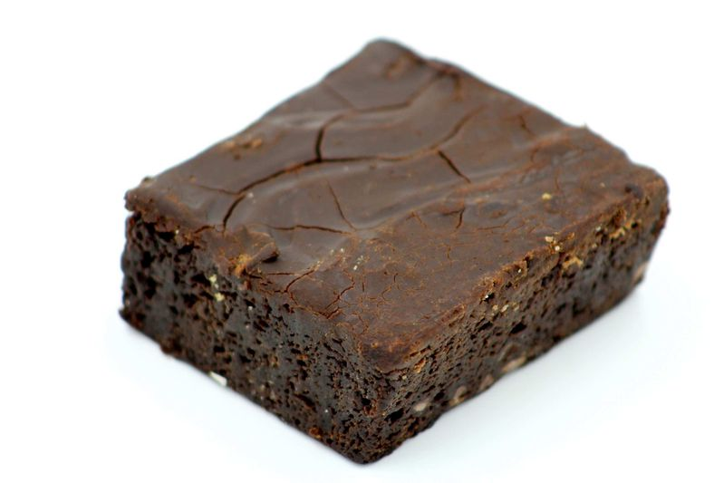 Mini|Brownies (4 x 20mg) 80mg | Fudge - TopShelf