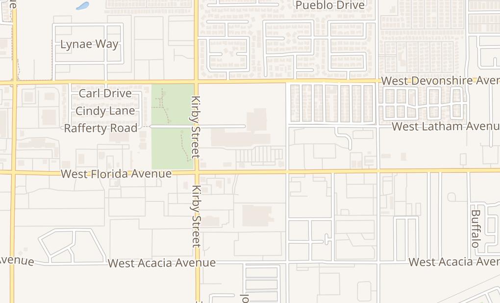 map of 2200 W Florida Ave #270Hemet, CA 92545