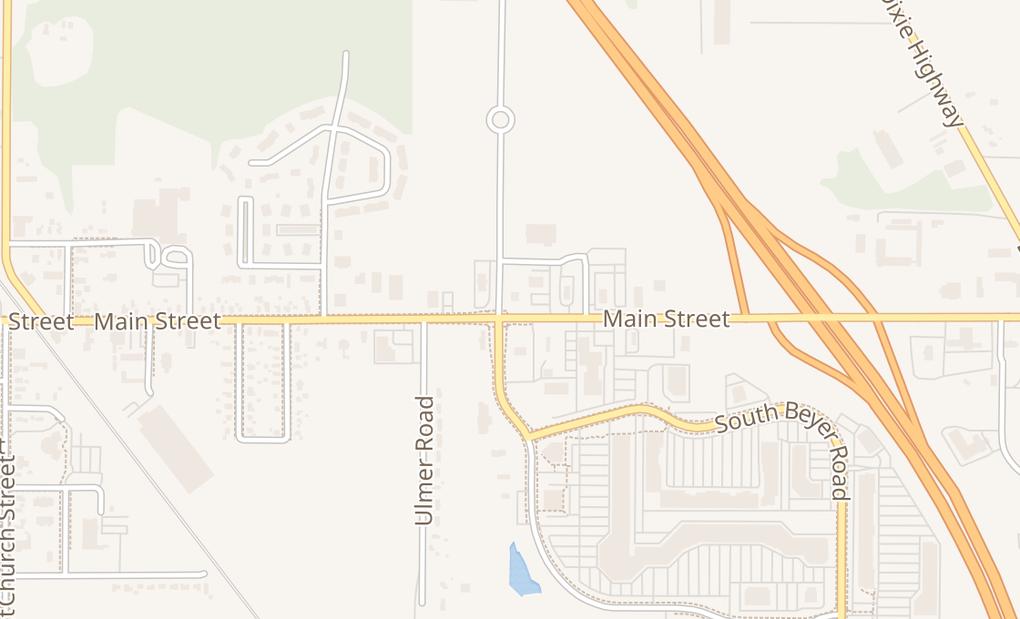 map of 8615 Main St Ste BBirch Run, MI 48415