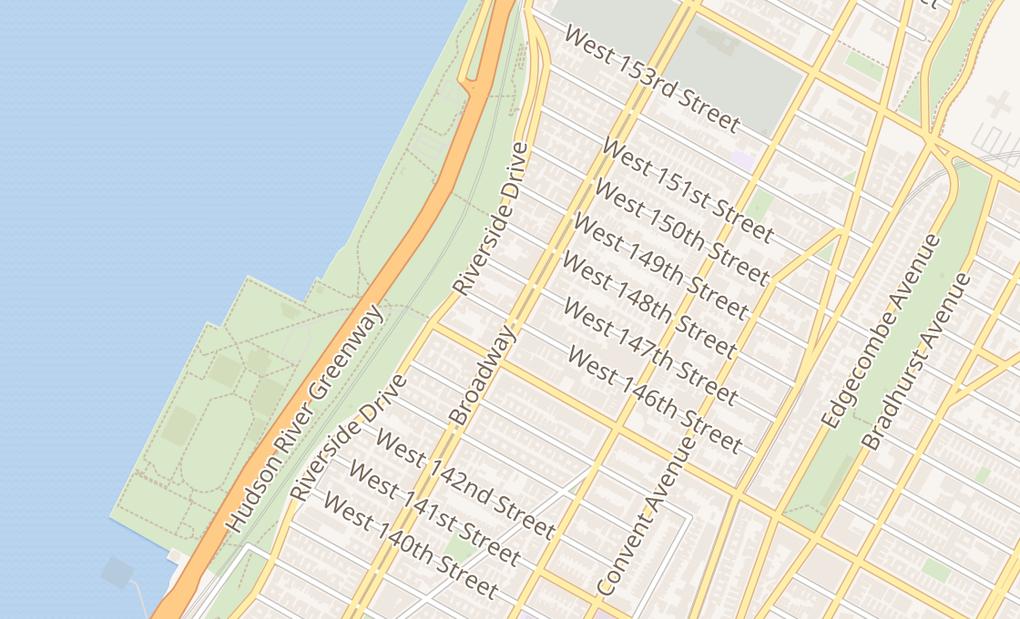 map of 3569 BroadwayNew York, NY 10031
