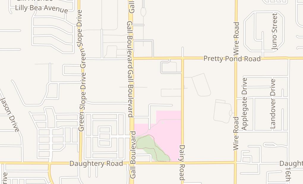 map of 7248 Gall BlvdZephyrhills, FL 33541