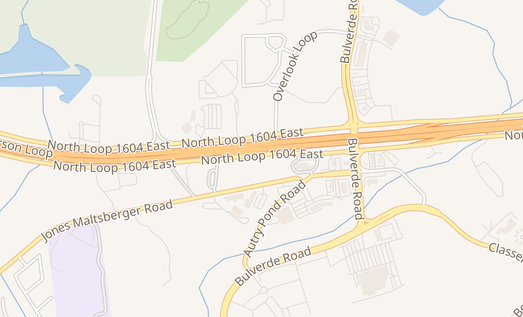 map of 3830 N Loop 1604 E Ste 103San Antonio, TX 78247