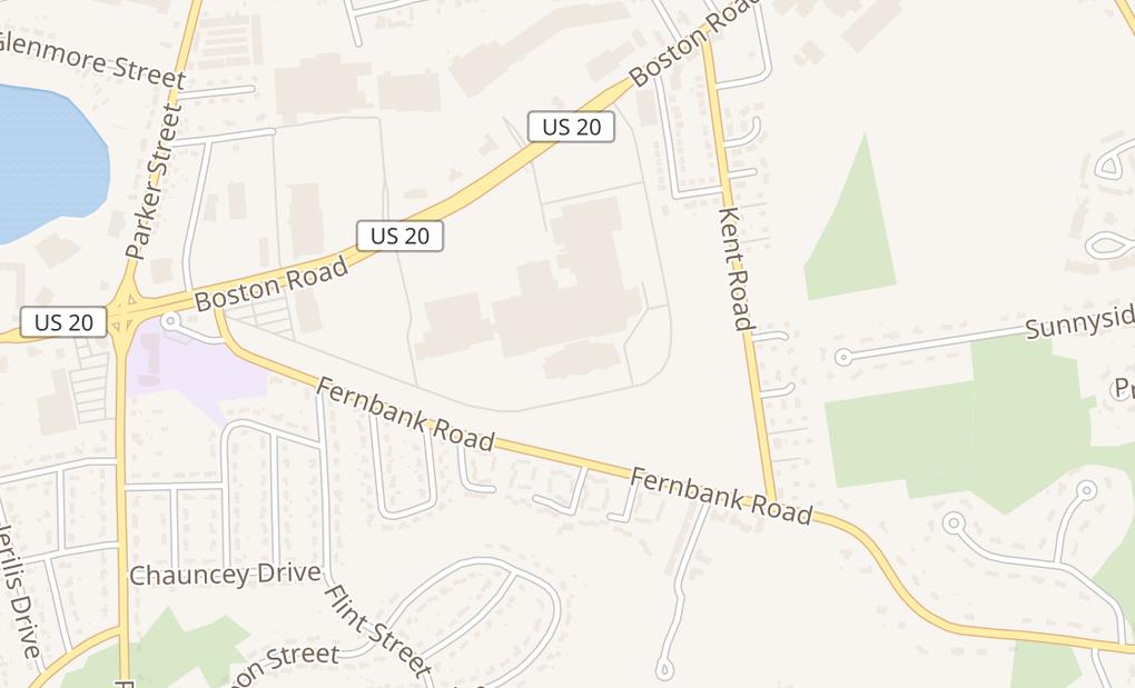 map of 1655 Boston Rd Ste 126Springfield, MA 01129