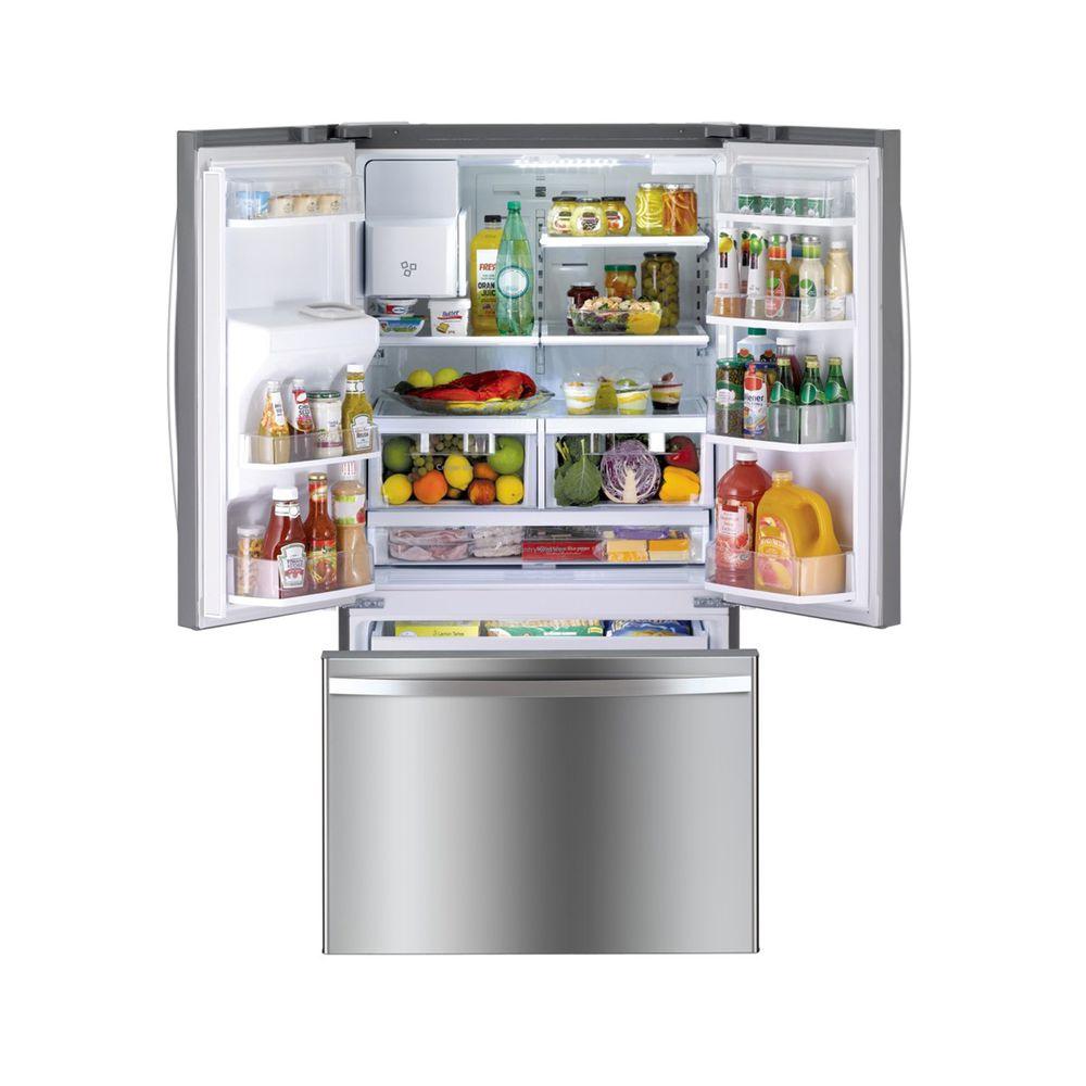 Kenmore 73045 256 Cu Ft French Door Refrigerator W Bottom