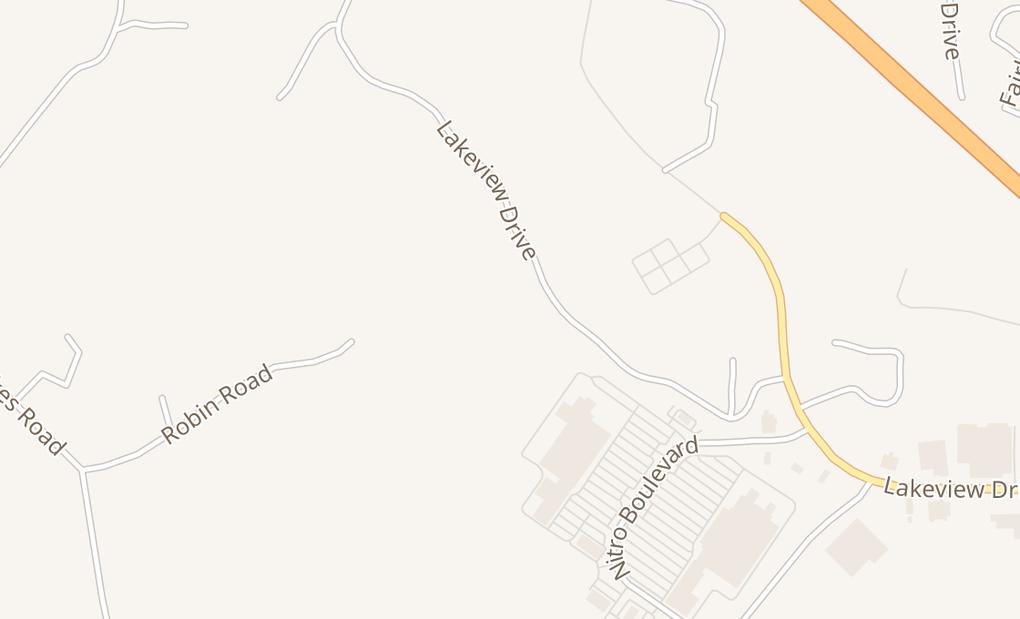 map of 54 Nitro Market Pl Ste ACross Lanes, WV 25313