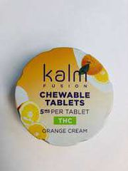 Kalm Chewables THC Orange Cream at Curaleaf Takoma