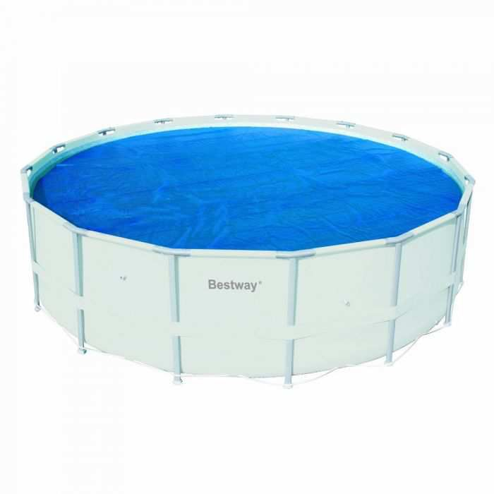 Bestway 16 ft. Solar Pool Cover (Metal Frame) 58253E - Paris, IL at ...