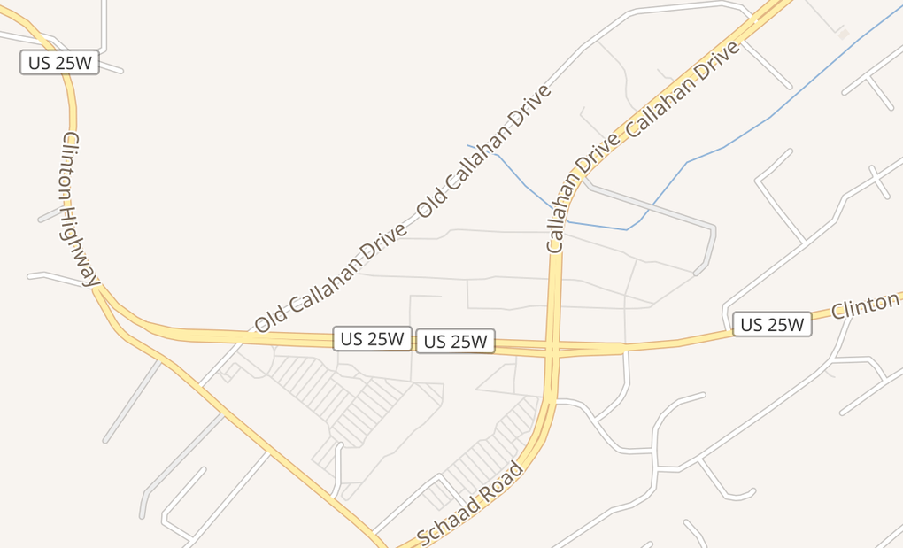 map of 6674 Clinton HwyKnoxville, TN 37912