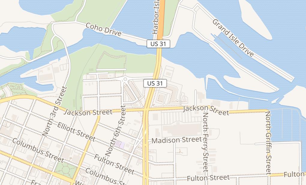 map of 604 N Beacon BlvdGrand Haven, MI 49417