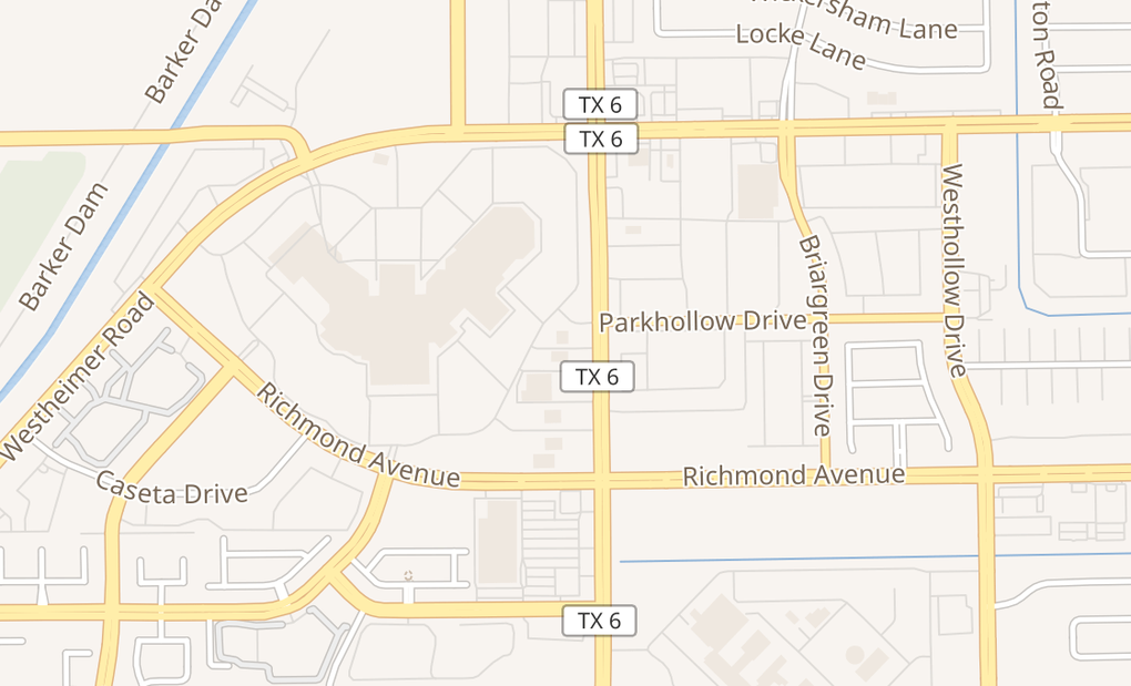 map of 2610 Highway 6 S Ste 3Houston, TX 77082