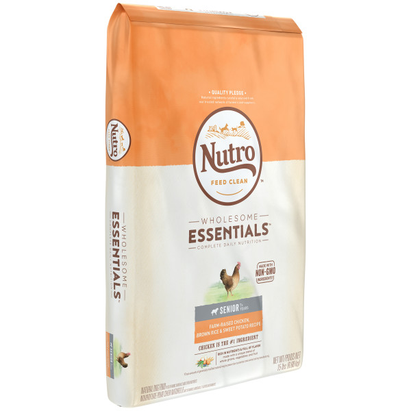 Nutro wholesome essentials farm raised chicken brown rice sweet nutro wholesome essentials farm raised chicken brown rice sweet potato recipe senior dry forumfinder Image collections