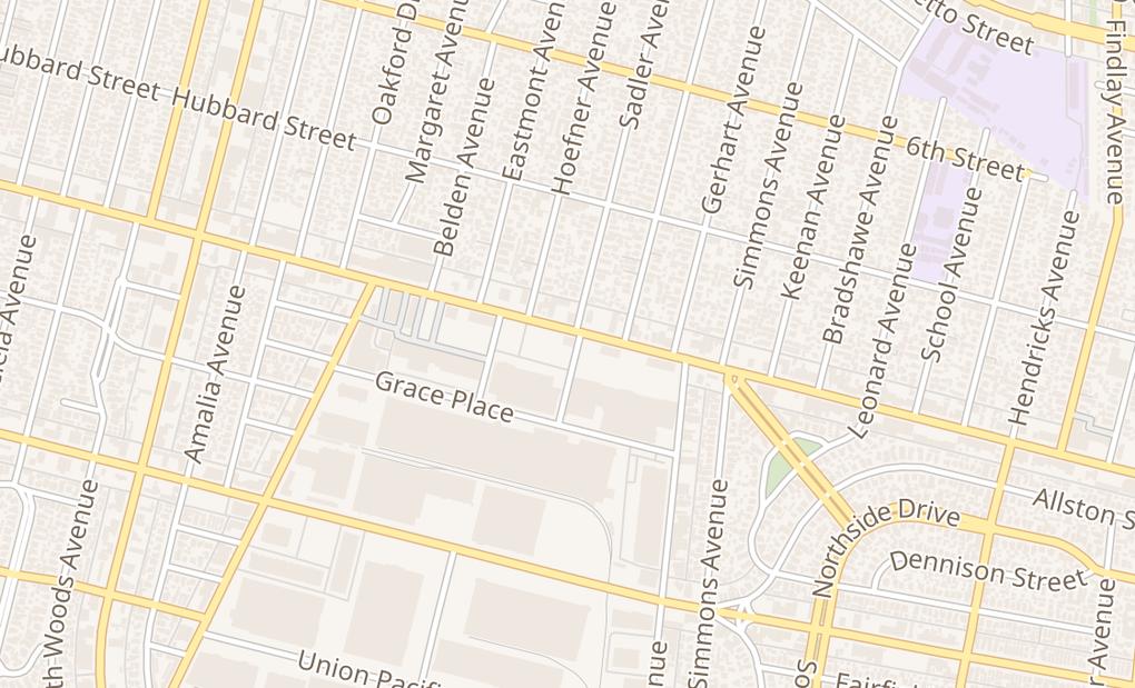 map of 5616 E Whittier BlvdCommerce, CA 90022
