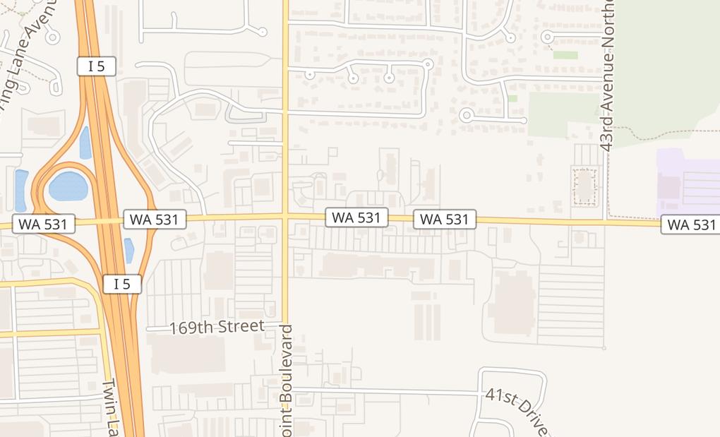 map of 3704 172Nd St Ne Pad B3Arlington, WA 98223