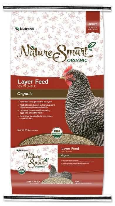Nutrena Naturesmart Organic Adult Chicken 16 Crumble Layer Feed