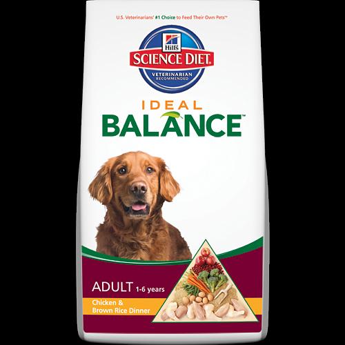 Hills Science Diet Ideal Balance Adult Chicken Brown Rice Dinner