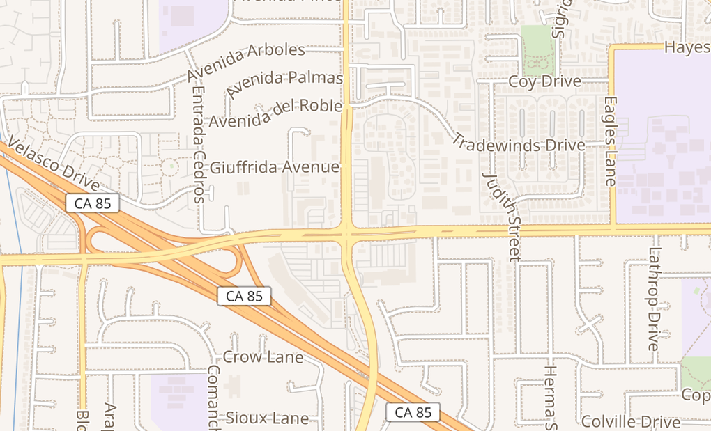 map of 451 Blossom Hill RdSan Jose, CA 95123