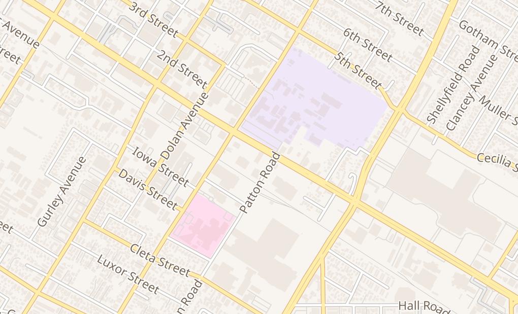 map of 8554 Firestone Blvd Ste BDowney, CA 90241