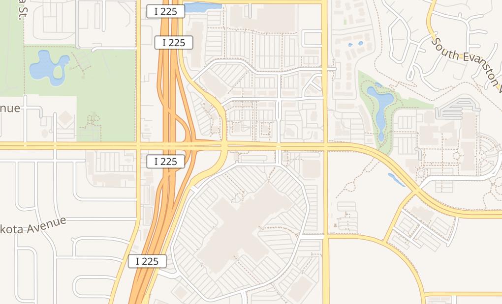 map of 14200 E Alameda Ave #2051AAurora, CO 80012