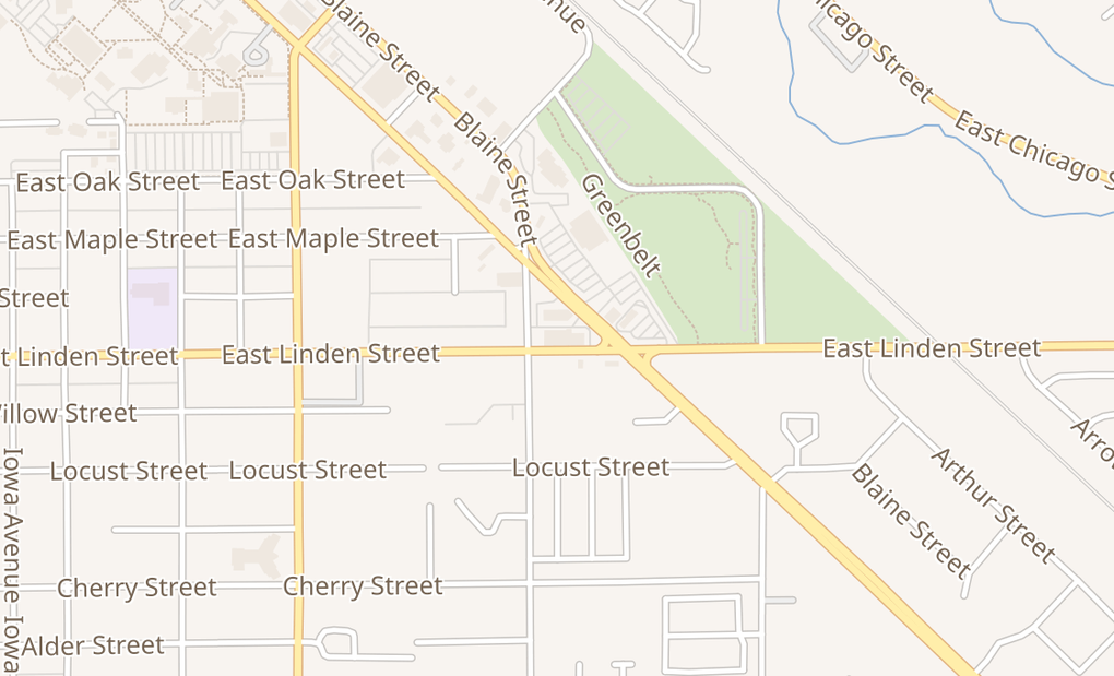 map of 2922 E Cleveland Blvd Ste 200Caldwell, ID 83605