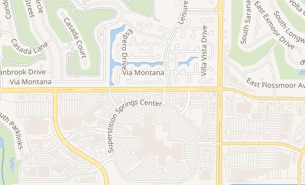 map of 6555 E Southern Ave Ste A14Mesa, AZ 85206