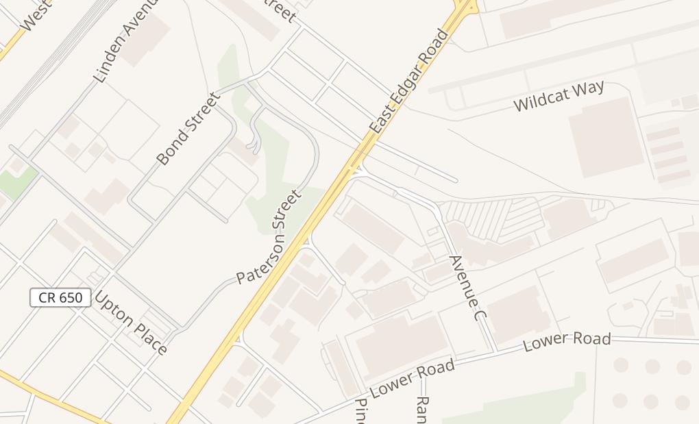 map of 1701 W Edgar Rd Unit HLinden, NJ 07036
