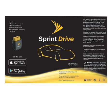 Sprint Drive - Sprint | In Stock - Commerce, CA