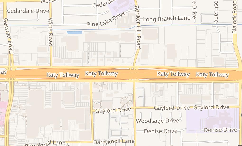 map of 9746 Katy Fwy Ste 600Houston, TX 77055