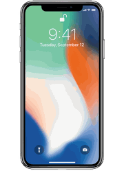 Apple iPhone X at Sprint 106 Hancock Bridge Pkwy W Ste A6