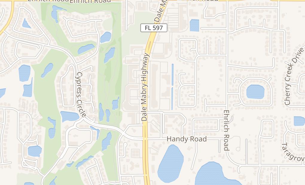 map of 14367 N Dale Mabry HwyTampa, FL 33618