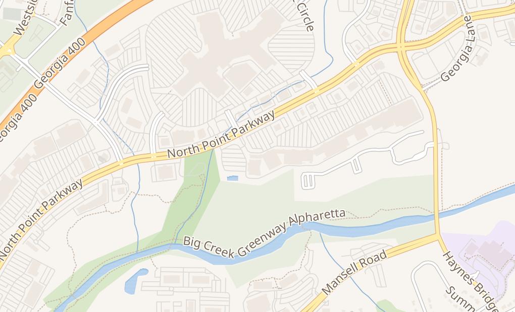 map of 6480 N Point Pkwy Ste 1110Alpharetta, GA 30022