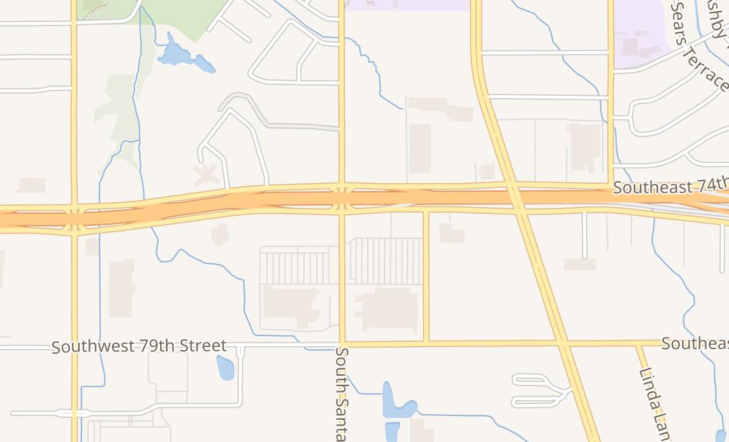 map of 7500 S Santa Fe Ave Ste 100Oklahoma City, OK 73139