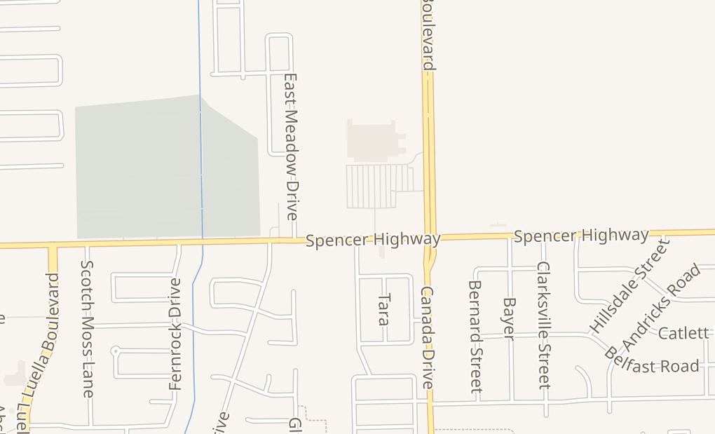 map of 9001 Spencer Hwy Ste FLa Porte, TX 77571