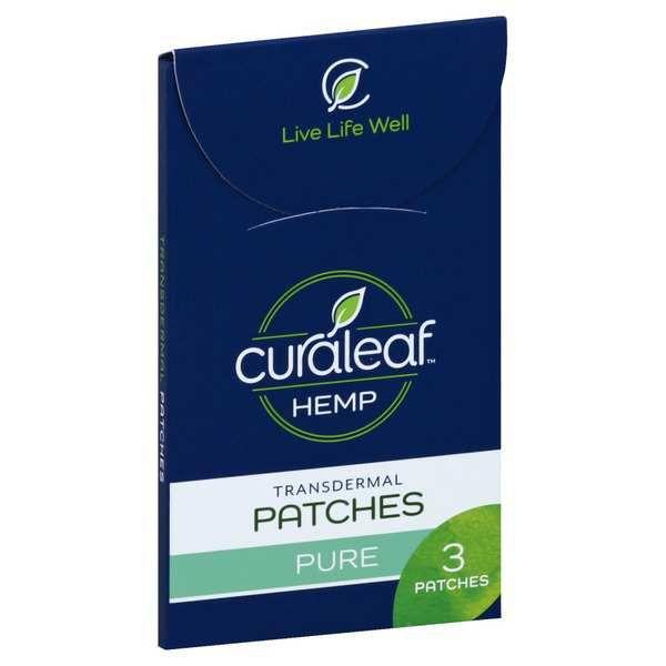 Patch | 10pck 25mg Each - CURALEAF HEMP