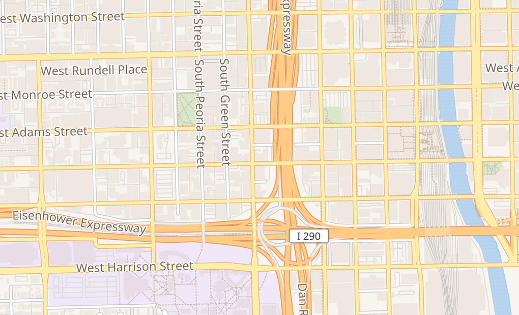 map of 239 S Halsted StChicago, IL 60661