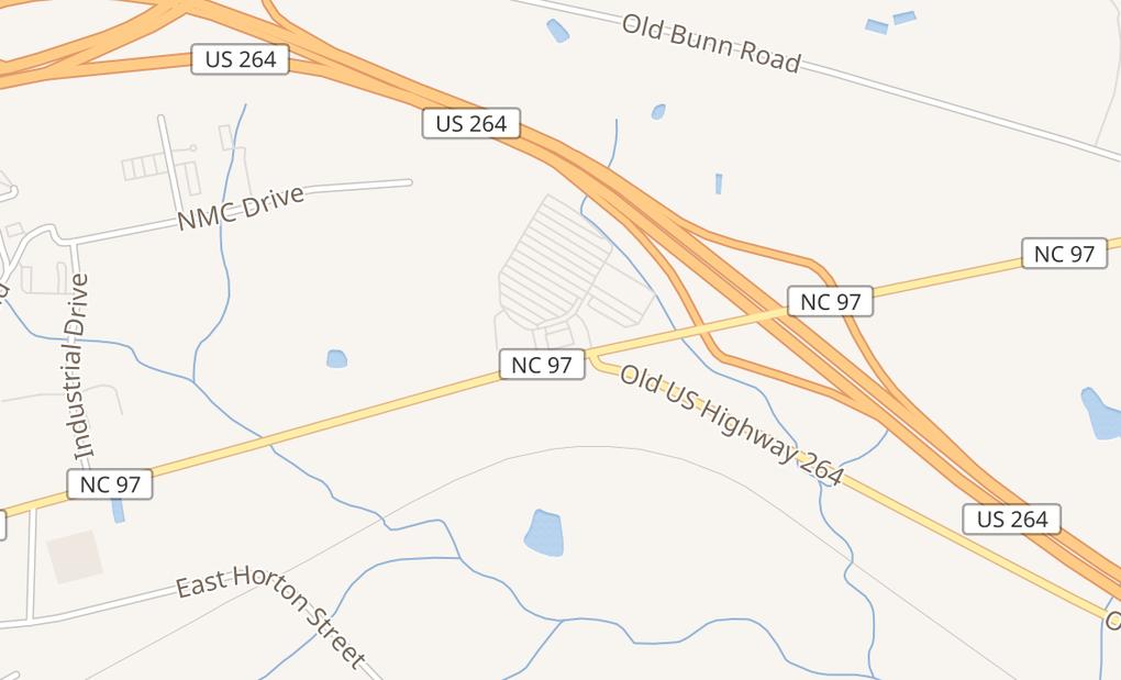map of 817 E Gannon Ave Ste 103Zebulon, NC 27597