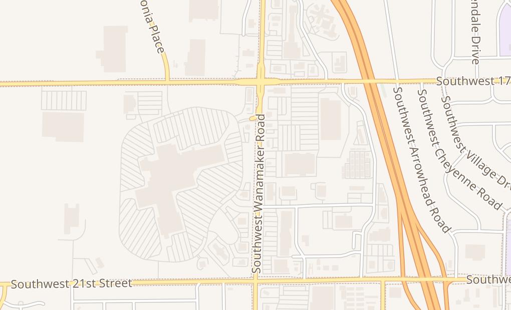 map of 1801 Sw Wanamaker Rd # K-3Topeka, KS 66604