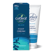 Foot Cream 200mg CBD - Peppermint at Curaleaf AZ Central