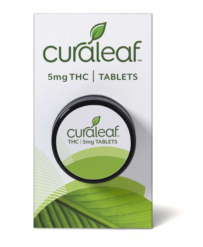 THC Tablet-Hybrid-5mg THC-30 Count (150mg THC) - Curaleaf