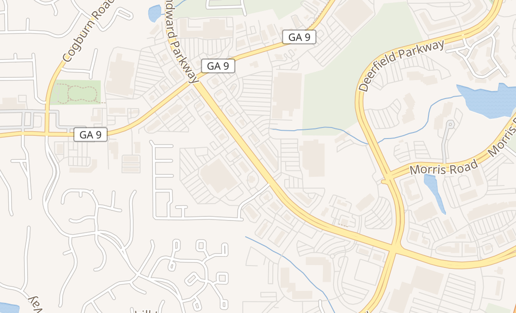 map of 5250 Windward Pkwy Ste 118Alpharetta, GA 30004