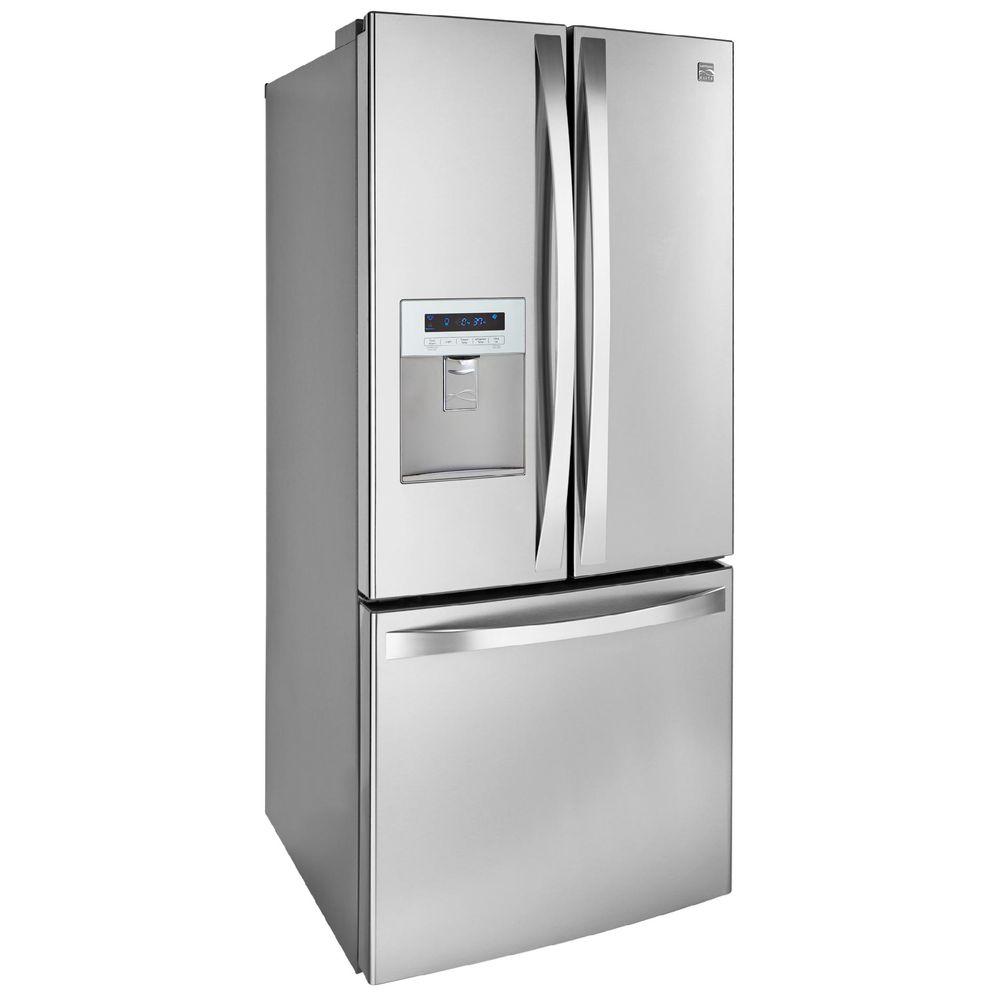 Kenmore Elite 71323 218 Cu Ft French Door Bottom Freezer