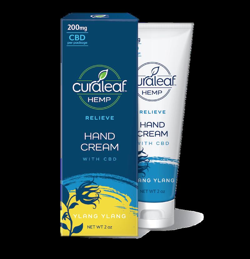 Ylang Ylang CBD Hand Cream | 200mg - CURALEAF HEMP