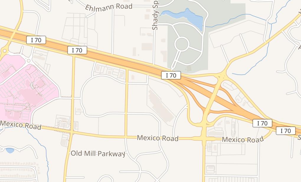 map of 4059 Veterans Memorial PkwySaint Peters, MO 63376