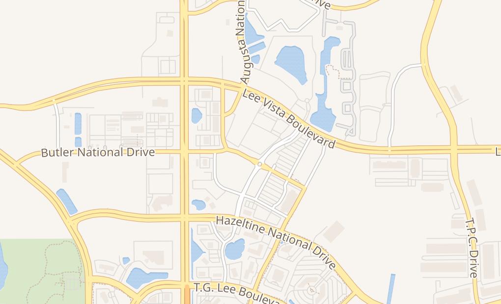map of 6752 Eagle Watch DrOrlando, FL 32822