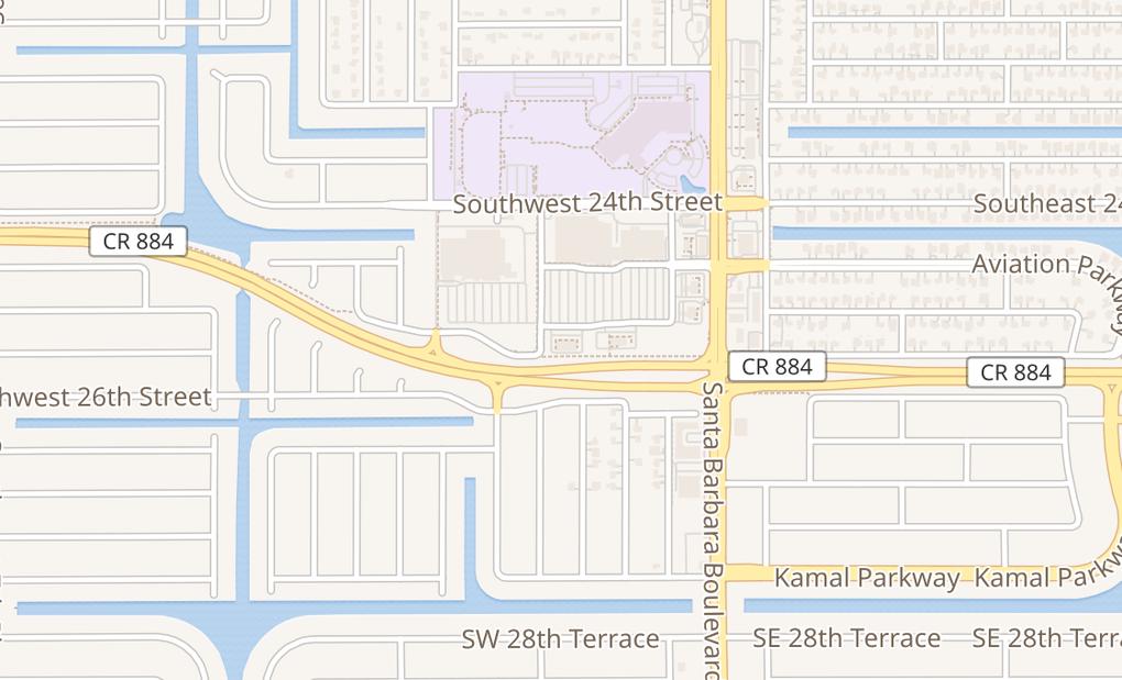 map of 2522 Santa Barabara Blvd #312Cape Coral, FL 33914
