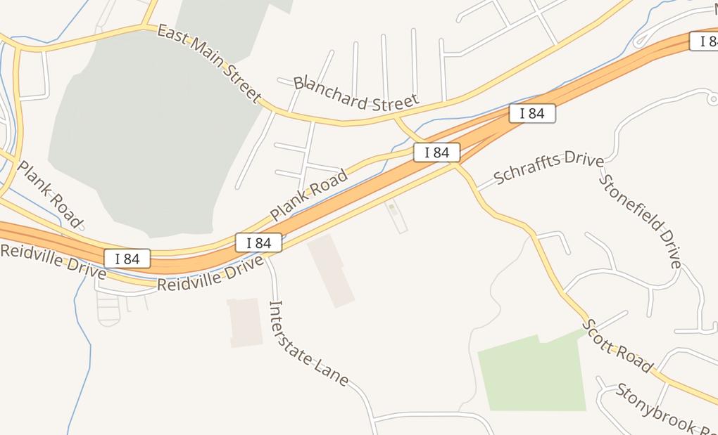 map of 464 Reidville DrWaterbury, CT 06705