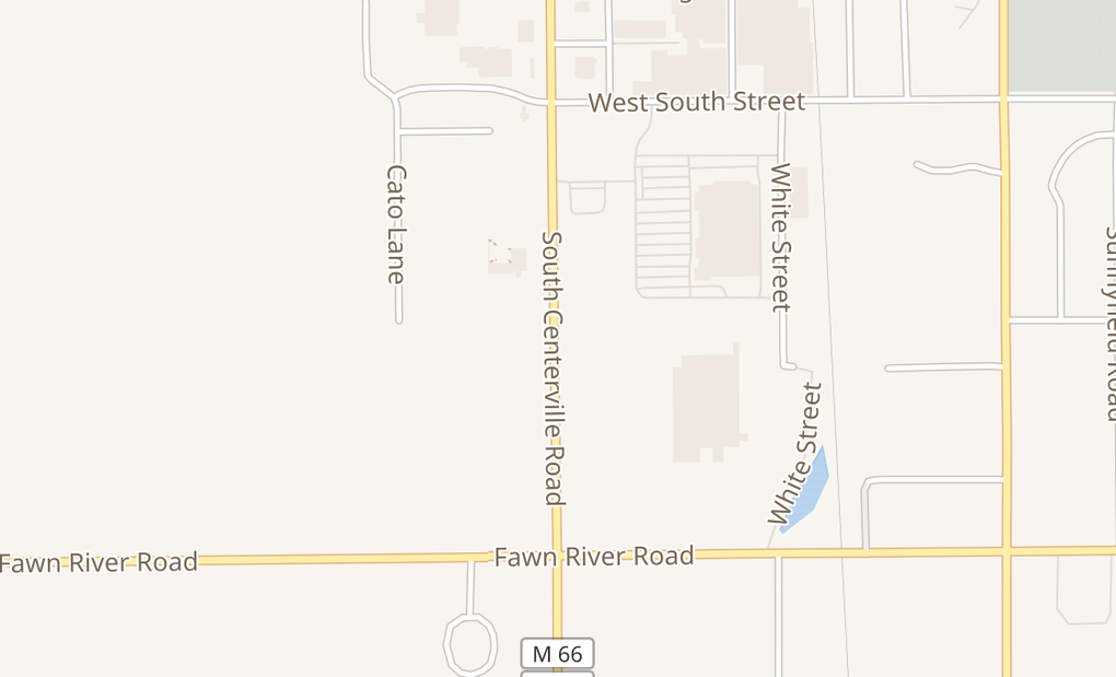 map of 1350 S Centreville RdSturgis, MI 49091