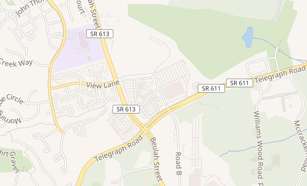 map of 6459 Old Beulah StAlexandria, VA 22315
