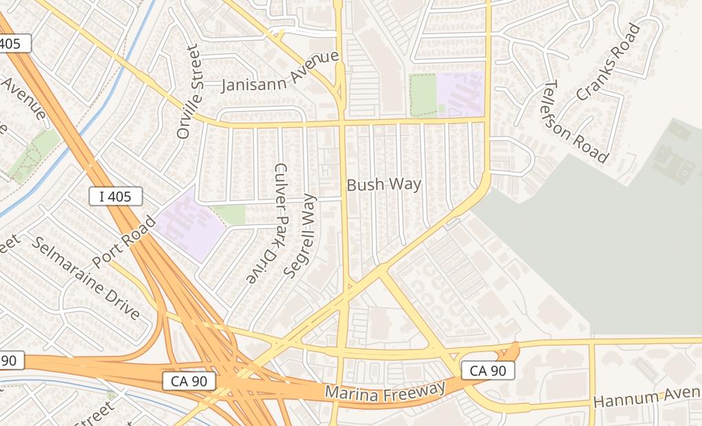 map of 5528 S Sepulveda BlvdCulver City, CA 90230