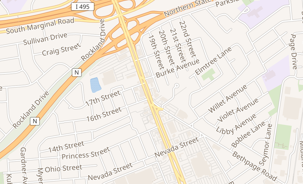 map of 311 N BroadwayHicksville, NY 11801